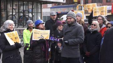 减少纽约市交通事故 权益组织提倡拥堵费