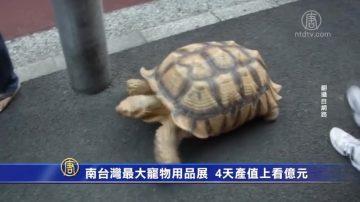 南台湾最大宠物用品展 4天产值上看亿元