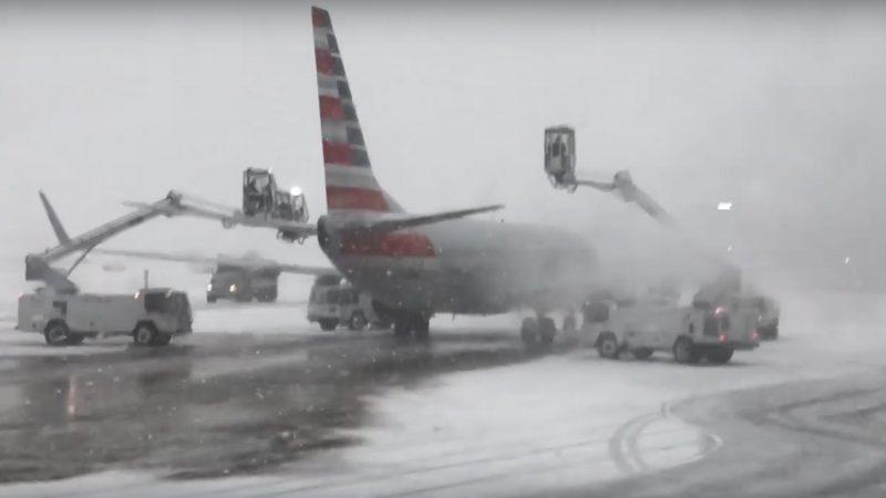 冬季风暴影响2900公里 美中西部降大雪至少5死
