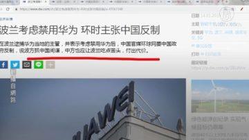【今日点击】波兰考虑禁用华为 环时主张中国反制