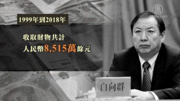 中共内蒙古自治区副主席白向群受审