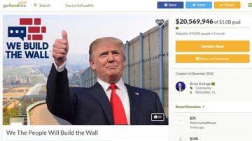 支持川普 美国大兵筹款欲亲自建墙