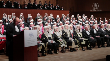 香港年度法律庆典 法官捍卫司法独立
