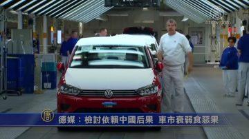 德媒:检讨依赖中国后果 车市衰弱食恶果