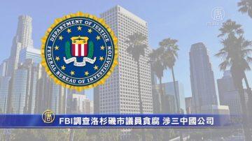 FBI调查洛杉矶市议员贪腐 涉三中国公司