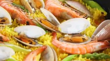 姜黄海鲜焗饭 1分钟学会(视频)