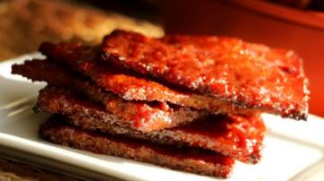 自制猪肉干 漂亮、美味新年零食(视频)