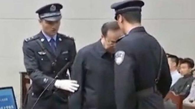 入选年度十大刑事案 孙政才受审异常画面曝光