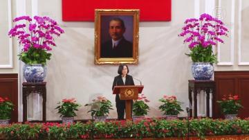 """""""一国两制""""统一台湾?蔡英文强势回应获支持"""