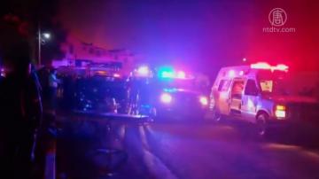 非法偷油引发墨西哥油管爆炸 21死71伤