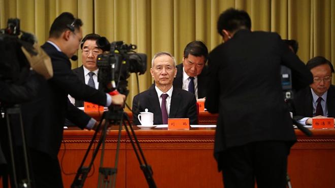 """刘鹤访美""""见面礼""""? 北京拟审议外商法"""