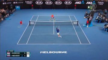 澳网决出8强 费德勒出局 小威淘汰现任球后