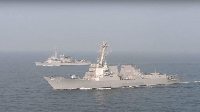 美中贸易谈判之际 两艘美舰驶近南海美济礁