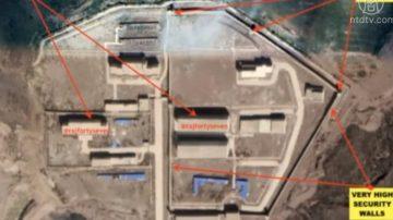 卫星图曝光 中共在西藏至少建三集中营