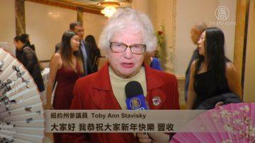 纽约州参议员Toby Ann Stavisky拜年