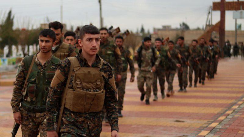 展开歼灭战斗 美支持SDF给IS最后一击