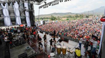募款音乐会唱响人道呼声 马杜罗政权枪杀民众