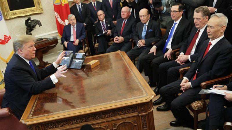 """川普:华盛顿谈判延长两天""""谁知道""""能否达成协议"""