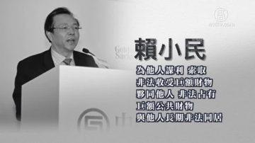 涉三大罪 华融前董事长赖小民被起诉