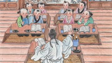 《幼学》故事(13)明皇游月殿