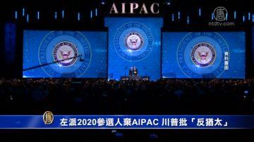 """左派2020参选人弃AIPAC 川普批""""反犹太"""""""