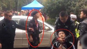 男子穿和服入武汉大学观赏樱花遭殴打