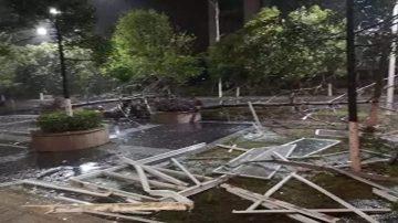 极端气候 广西桂林17级强风 东南非大洪灾