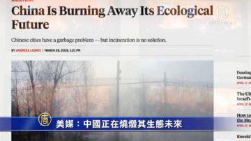 【禁闻】美媒:中国正在烧毁其生态未来