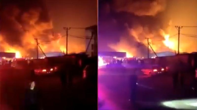 遼寧化工廠爆炸視頻熱傳 中共官方緊急刪稿(視頻)