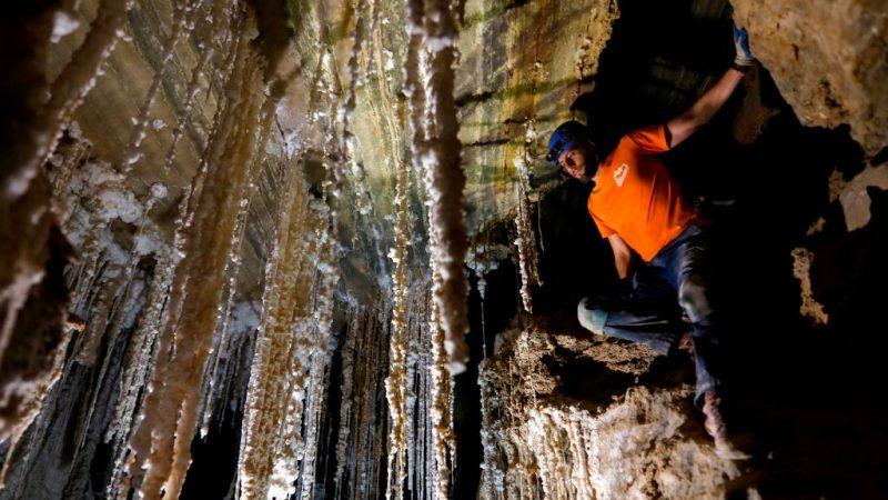 世界最长盐洞 以色列考察员花两年测绘10公里